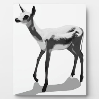 White Fawn Plaque