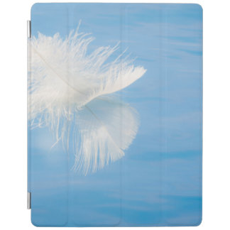 White Feather Reflects on Water   Seabeck, WA iPad Cover