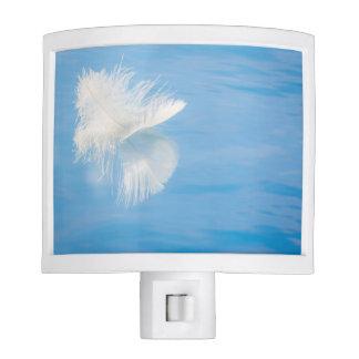 White Feather Reflects on Water | Seabeck, WA Night Lights