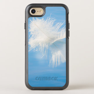 White Feather Reflects on Water | Seabeck, WA OtterBox Symmetry iPhone 8/7 Case