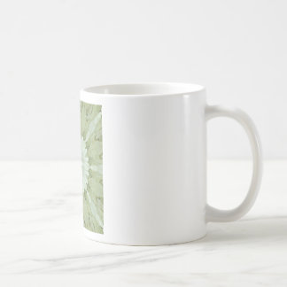 white floral abstract engagement wedding home art coffee mug