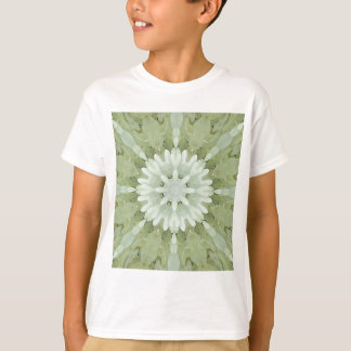 white floral abstract engagement wedding home art T-Shirt