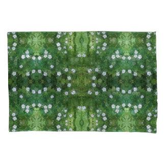 White Flower Fractal Pillow Case Pillowcase