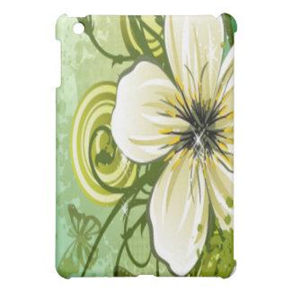 White Flower Ipad iPad Mini Cases