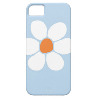 White flower iPhone 5 covers