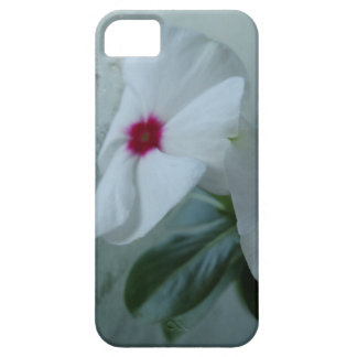 White flower iPhone SE + iPhone 5/5S, Barely There iPhone 5 Covers