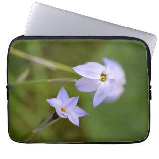 White Flower Laptop Sleeve