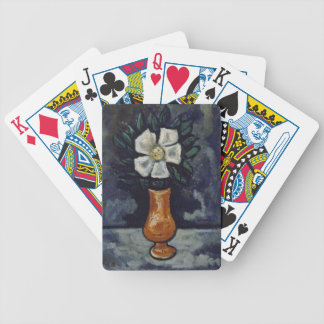White Flower - Marsden Hartley Bicycle Playing Cards