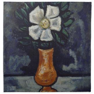 White Flower - Marsden Hartley Napkin