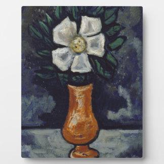 White Flower - Marsden Hartley Plaque