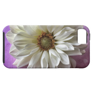 white flower on polka dots iPhone5 Vibe case