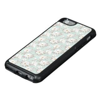 White Flower Pattern OtterBox iPhone 6 Case