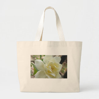White Flower Tote