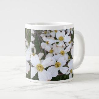 White Flowering Dogwood Flowers Custom Mugs