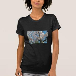 White, Flowering Tree Tee Shirts
