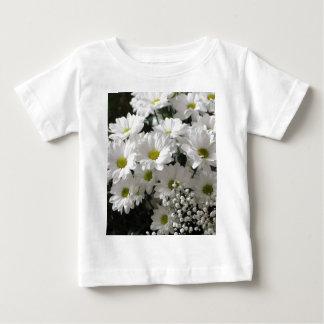 White Flowers Baby T-Shirt