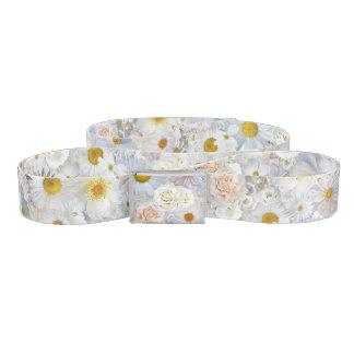 White Flowers Bouquet Floral Wedding Bridal Spring Belt