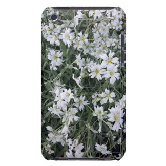 White flowers iPod Case-Mate cases