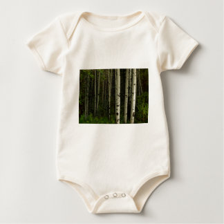 White Forest Baby Bodysuit