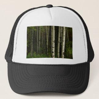White Forest Trucker Hat