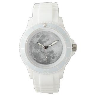 White Full Moon Watch