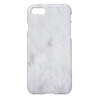 White Fur iPhone Case