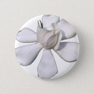 White Gardenia Bud 201711g 2 Inch Round Button