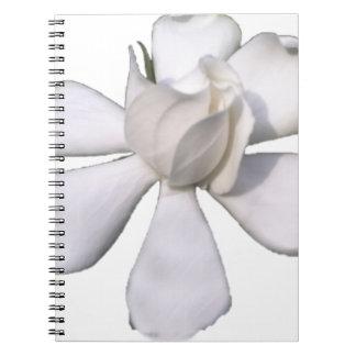 White Gardenia Bud 201711g Notebooks