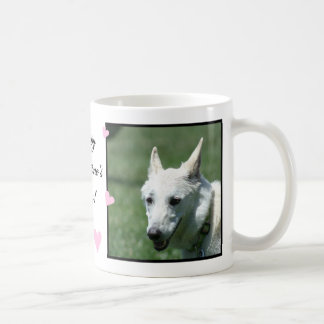 White German Shepherd Coffee Mug