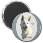 White German Shepherd Gifts Fridge Magnet