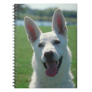 White German Shepherd Notebook