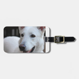 white german shepherd.png luggage tag