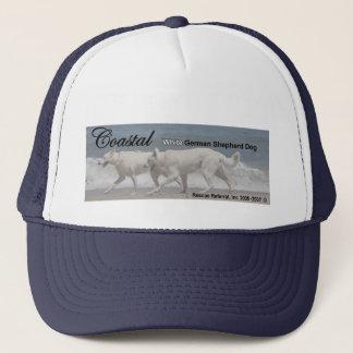 White German Shepherd Rescue Trucker Hat