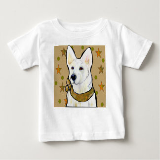 White German Shepherd Soldier Baby T-Shirt