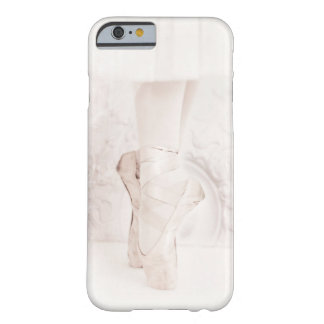 White Giselle ballet pointe shoes phone case