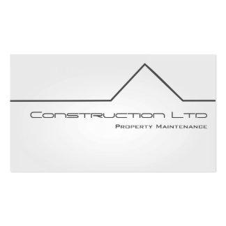 White Glow Property Maintenance Business Card