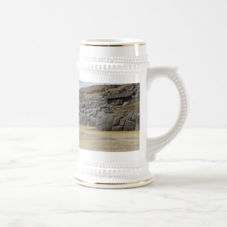 White/Gold 650 ml Stein