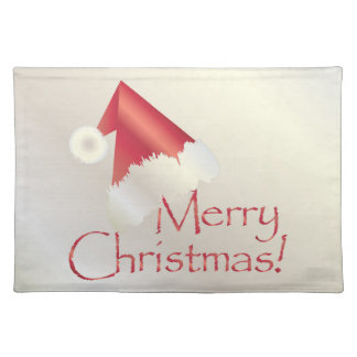 White gold Christmas Placemat