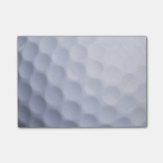 White Golf Ball Sports Template Post-it® Notes