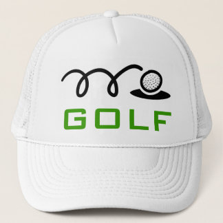 White golf hats for men and women