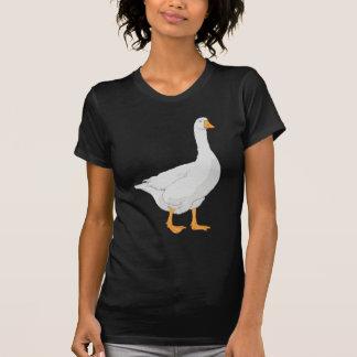White Goose Illustration T-Shirt