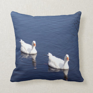 White Goose Pillow