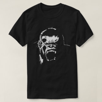 White Gorilla Ape Fury t-shirt