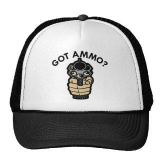 White Got Ammo Pistol Trucker Hat