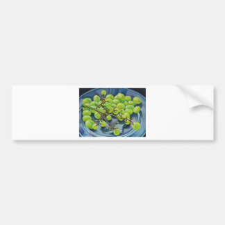 White Grapes Bumper Sticker