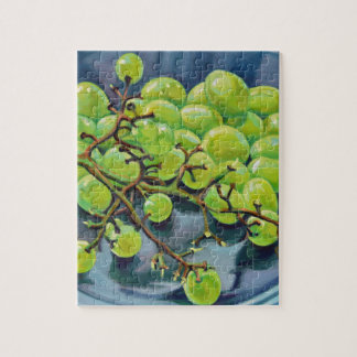 White Grapes Jigsaw Puzzle