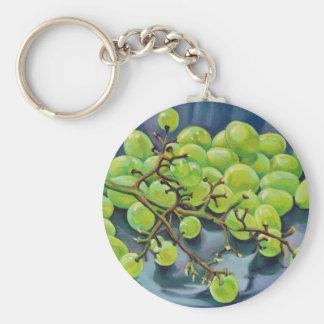 White Grapes Keychain