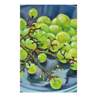 White Grapes Stationery