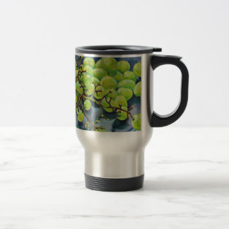 White Grapes Travel Mug