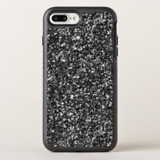 White Gray And Black  Glitter OtterBox Symmetry iPhone 8 Plus/7 Plus Case